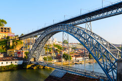 Dom Luis I bridge Royalty Free Stock Photo