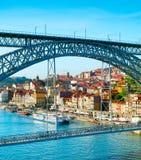 Dom Luis II bridge. Porto Stock Image