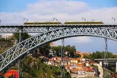 Dom Luis most, Porto, Portugalia Fotografia Royalty Free
