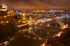 Dom Luise bridge, Porto Stock Photography