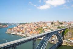 Dom Luiz-Brücke Porto Lizenzfreie Stockfotografie