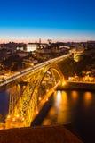 Dom Luiz-Brücke Porto Lizenzfreie Stockfotos