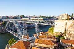 Dom Luiz-Brücke Porto Lizenzfreie Stockbilder