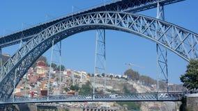 Dom Luiz-Brücke, Porto, Portugal Stockfotos