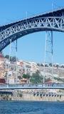 Dom Luiz-Brücke, Porto, Portugal Stockfotografie