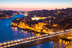 Dom Luiz bridge Porto Royalty Free Stock Photography