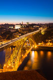 Dom Luiz bridge Porto Royalty Free Stock Photos