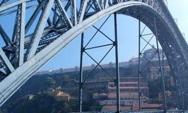 Dom Luiz bridge, Porto, Portugal Royalty Free Stock Photo