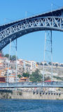 Dom Luiz-brug, Porto, Portugal Stock Fotografie
