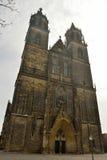 The Dom in Magdeburg. The Dom in Magdeburg, Germany Stock Photography