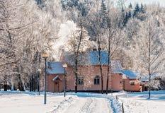 Dom malarz Repin. Zdjęcia Stock
