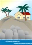 dom marzeń royalty ilustracja