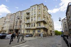 Dom miejski przy Smolna ulicą w Warszawa Zdjęcia Royalty Free