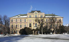 Dom miejski w Liptovsky Mikulas Sistani Obraz Stock