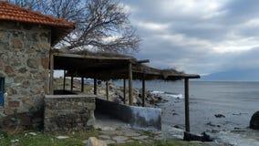 Dom morzem obrazy stock