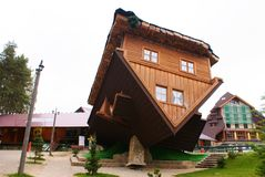 Dom na dachu Fotografia Stock