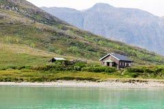 Dom na górze w Norwegia zdjęcia royalty free