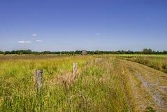 Dom na horyzoncie zdjęcia stock