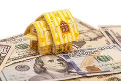 Dom na U S dolarów Fotografia Royalty Free