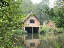 Dom na wodzie Zdjęcia Stock