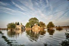 Dom na wodzie Zdjęcie Stock