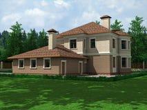 dom na wsi Zdjęcie Stock