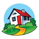 dom na wsi Fotografia Royalty Free