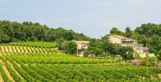 Dom na wsi blisko Montpellier Obraz Royalty Free