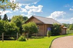 dom na wsi drewniany Obraz Royalty Free