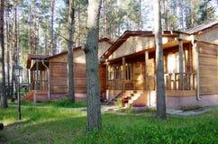 dom na wsi drewniany Zdjęcie Royalty Free