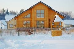 dom na wsi nowy Zdjęcie Stock