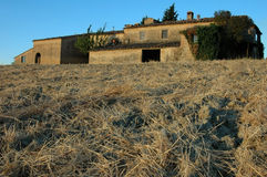 dom na wsi stary Obrazy Royalty Free