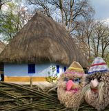 dom na wsi, strona obrazy royalty free