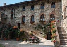 Dom na wsi, Tuscany, obraz royalty free