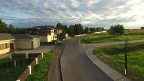 Dom na wsi w drewnach zdjęcie wideo