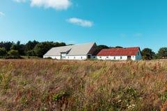 Dom na wsi z magazynem w Dani obraz royalty free
