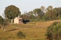 Dom na wzgórzu Obraz Royalty Free