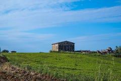 Dom na wzgórzu Zdjęcie Stock