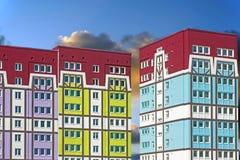 dom nowoczesne mieszkania Zdjęcie Royalty Free