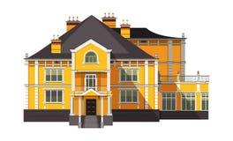 dom odizolowane ilustracji