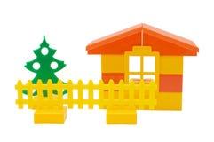 dom odizolowywająca zabawka obraz stock