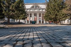Dom oficery w Ekaterinburg, Rosja Obrazy Royalty Free
