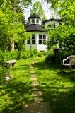 dom ogrodu Zdjęcie Royalty Free