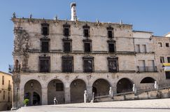 Dom - pałac Marquess konkieta, Ono budował wewnątrz fotografia stock