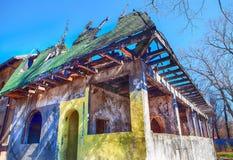 Dom po ogienia Zdjęcie Stock
