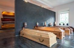 Dom pogrzebowy zdjęcia royalty free