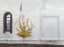 Dom Pogrzebowy ściana Obraz Royalty Free