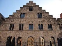 Dom przy Graslei Ghent, Belgia (,) Obrazy Stock