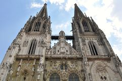 Dom-the Regensburg Cathedral,Germany(UNESCO site) Stock Photography