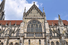 Dom-the Regensburg Cathedral,Germany(UNESCO site) Stock Image